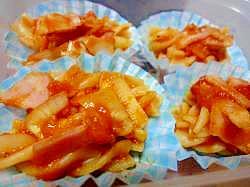 お弁当に♪ショートパスタのトマトソース