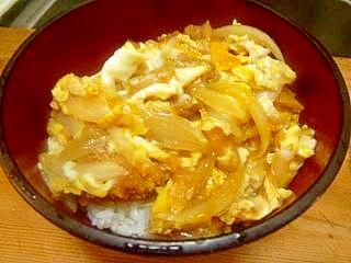 残り物のカキフライで作る牡蠣丼