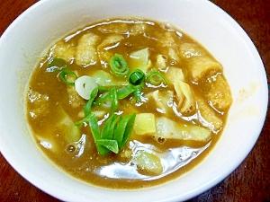 ちょっと和風の…キャベツ入りカレースープ