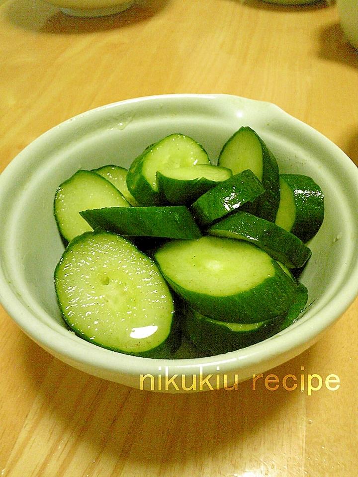 きゅうりの浅漬け レシピ・作り方 by nikukiu|楽天レシピ