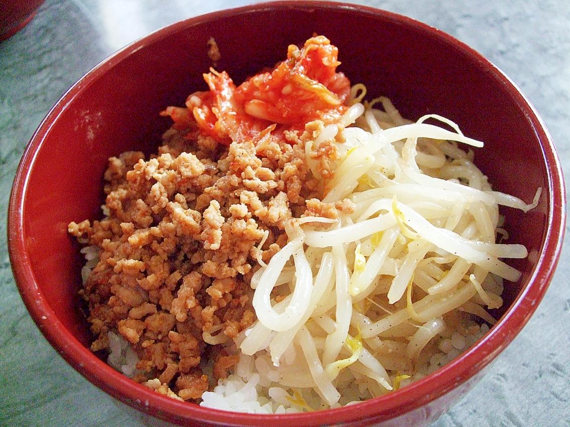 簡単!ウマ☆ビビンバ風丼