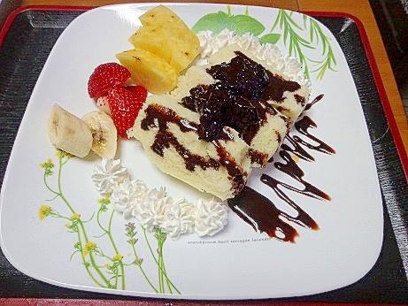 第2弾☆バレンタイン~シンプルケーキ作ったよ^_^