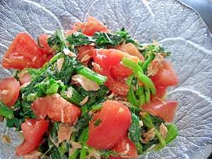 緑黄野菜たっぷり☆トマトとほうれん草のサラダ レシピ・作り方 by おだんごまま 楽天レシピ
