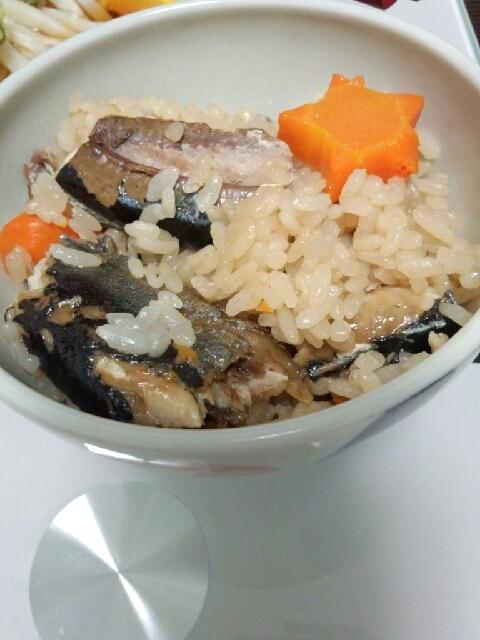 fastfishのサンマで簡単!炊き込み御飯!