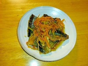 秋刀魚を南蛮漬けでさっぱり食べよう♪