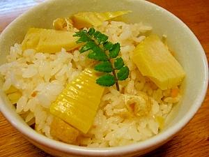白だしを使って簡単・美味しい☆筍ご飯☆ レシピ・作り方 by 信州ポーク|楽天レシピ