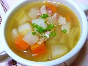 具沢山!温野菜たっぷりスープ