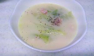 お手軽♪豆乳スープ