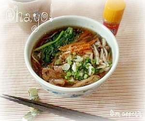 ☆★朝食蕎麦♪★☆