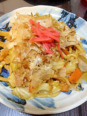 野菜たっぷり★焼きうどん