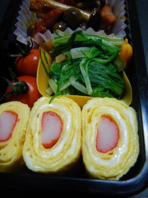 お弁当に♡かにかま入り卵焼き レシピ・作り方