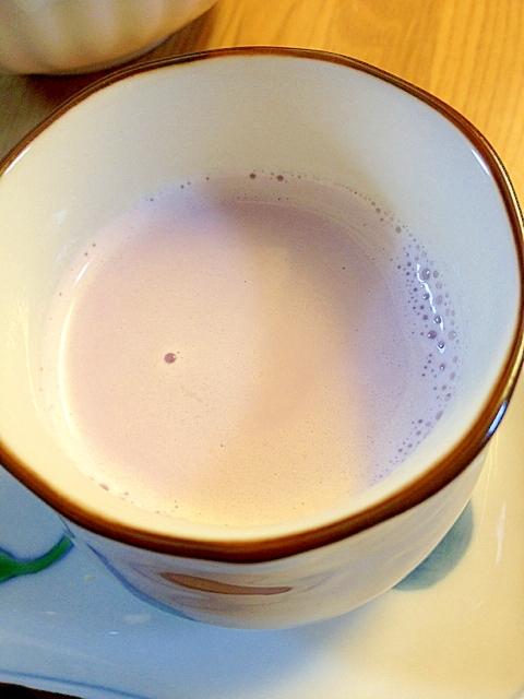 紫芋ミルクコラーゲン入り^^