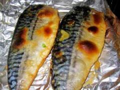 お魚料理をラクに? ~お片づけ簡単♪塩焼き~