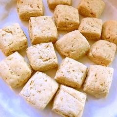 蕎麦粉のサクサク蕎麦の実入りスコーン