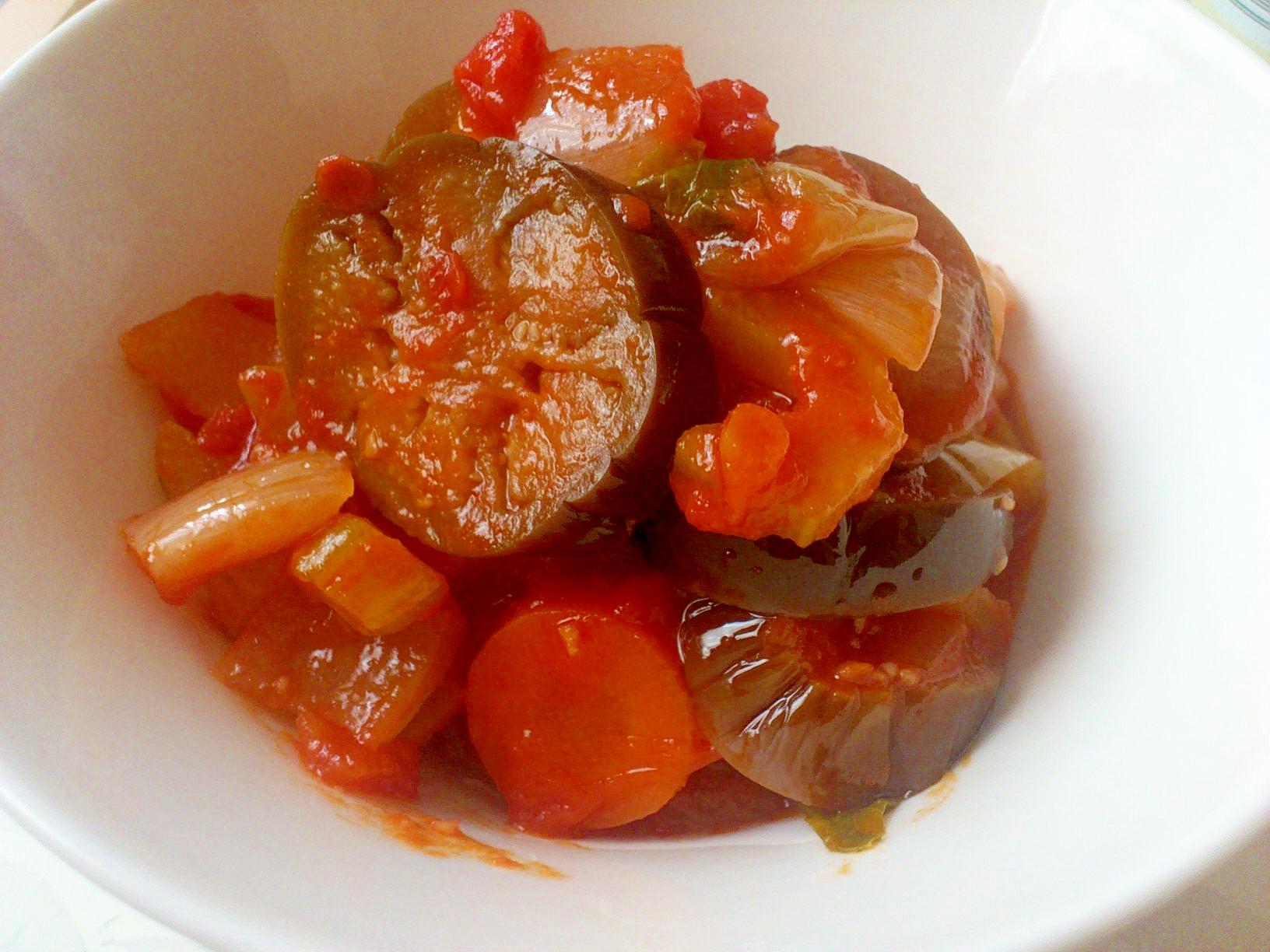 野菜ごっそり☆夏野菜の煮込み・ラタトゥイユ