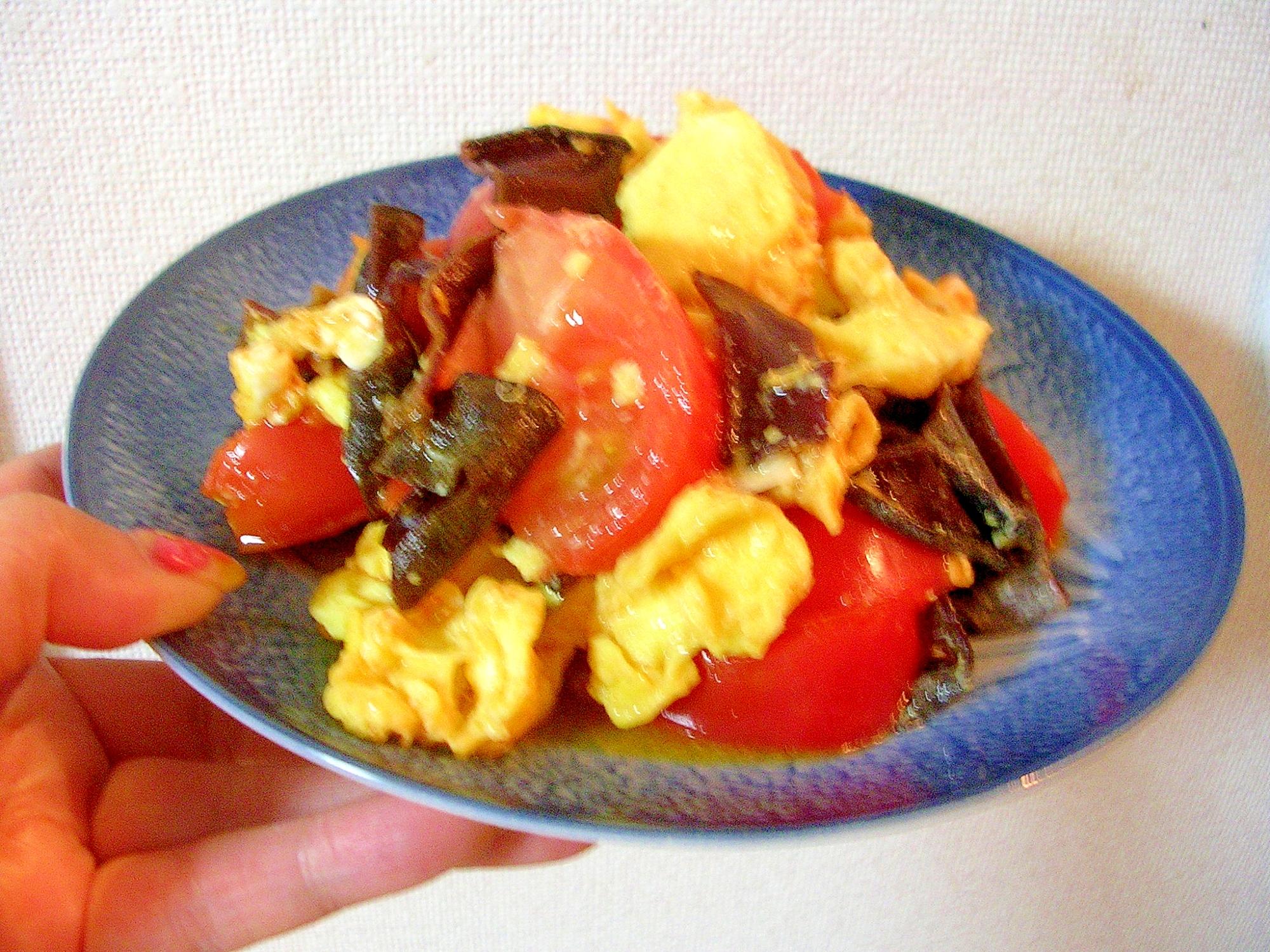 トマトは炒めても美味!