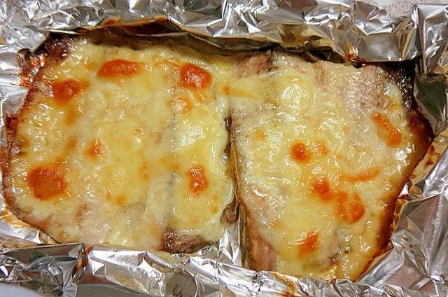 さんまのマヨチーズ焼き
