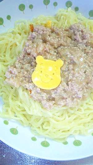 辛くないジャージャー麺