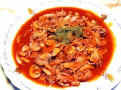 ご飯にかければハヤシライス!牛肉のビーフチャップ♪