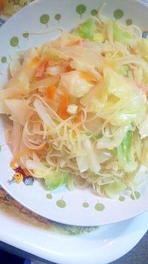 野菜たっぷり♪ビーフン