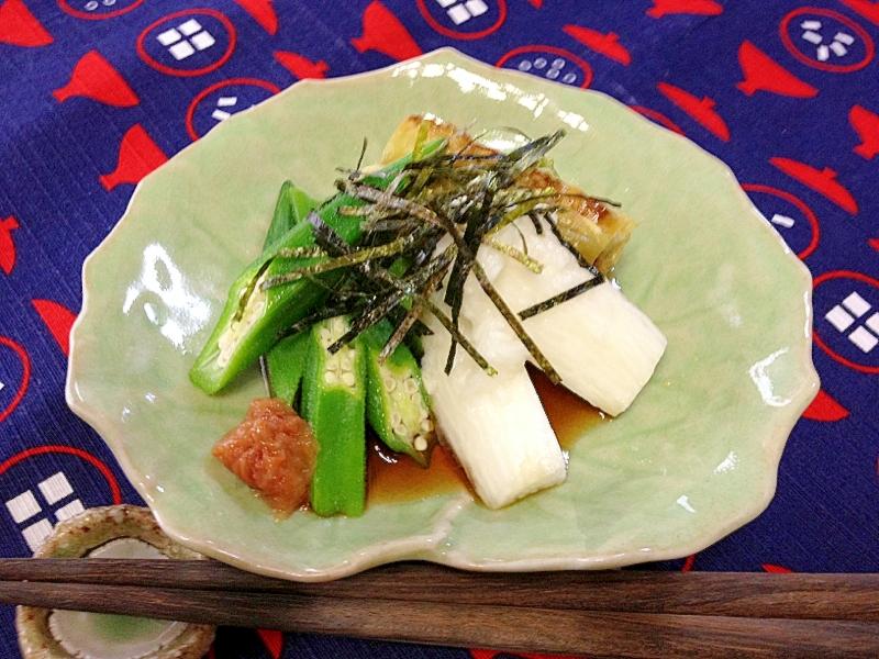 旅館風☆野菜の盛り合わせ
