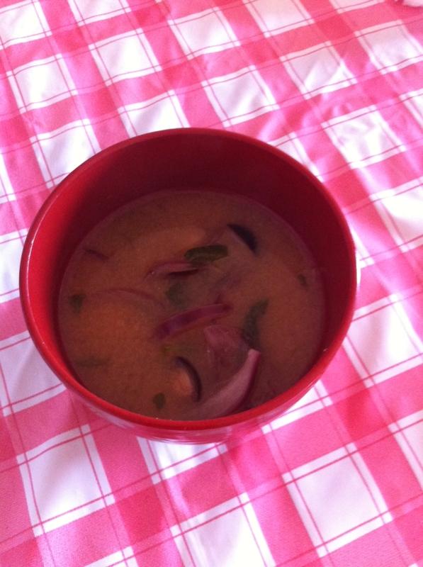 ヘルシー★きのこのお味噌汁