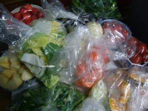 カット野菜のストック