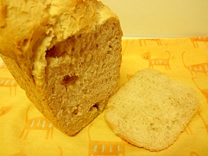 ホームベーカリーでチョコ入りパン