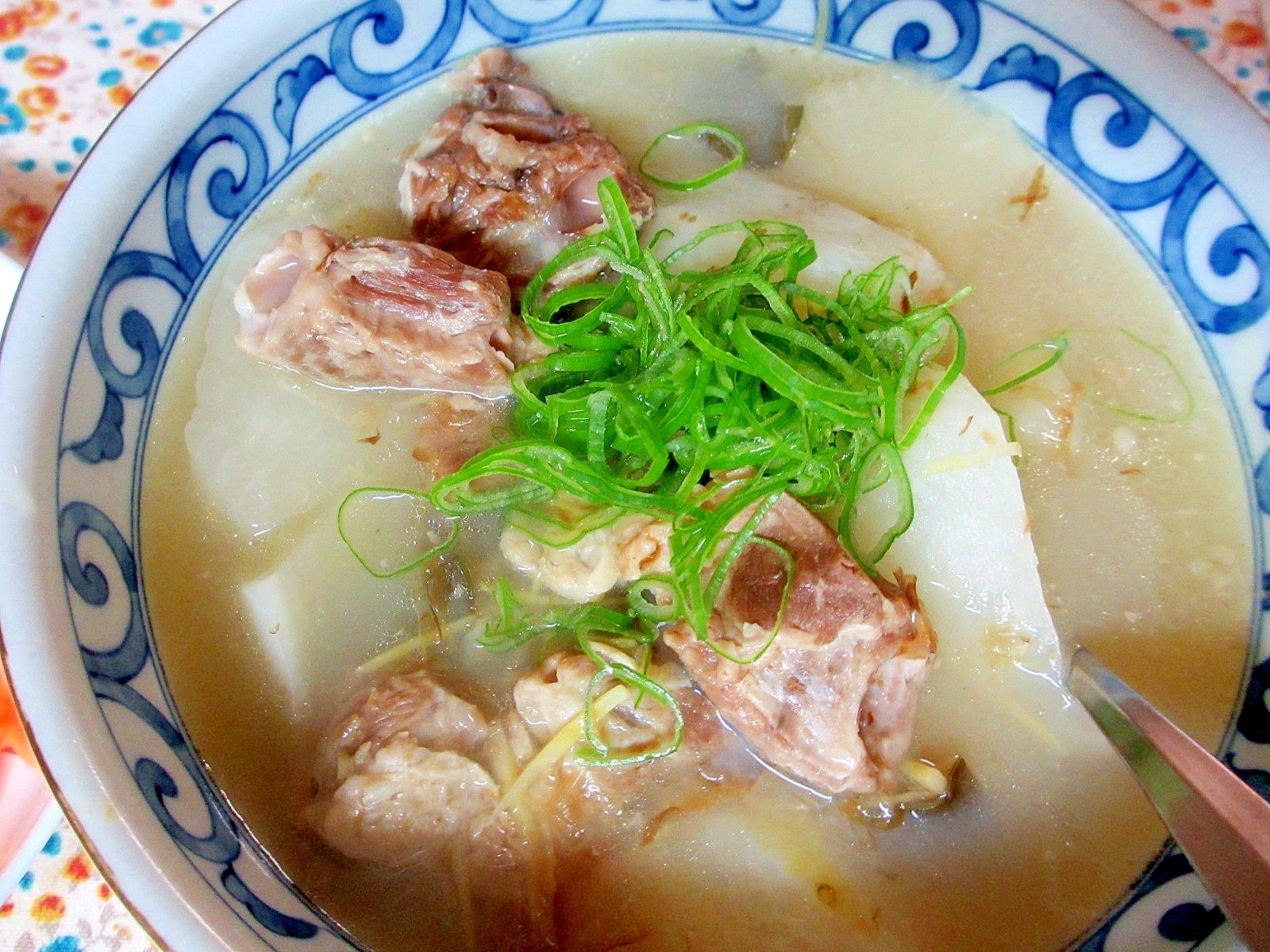 2. ほったらかし 大根と豚肉でおかずスープ