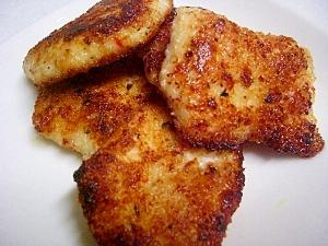 鶏肉のカレー風味カツレツ