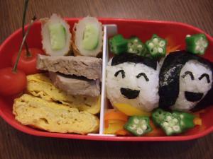 幼稚園児の七夕お弁当