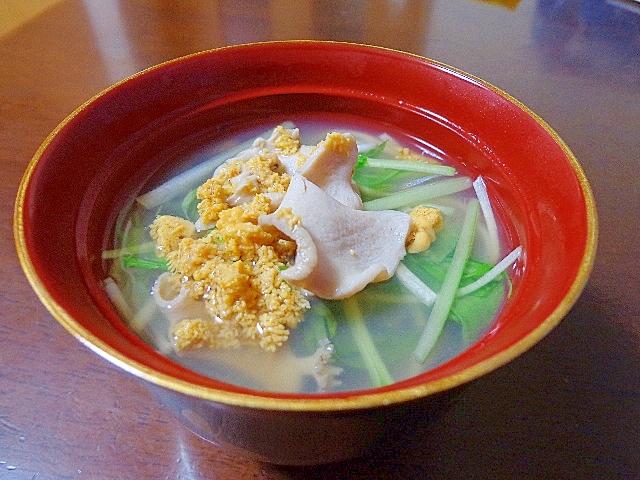 6.いちご煮素麺汁
