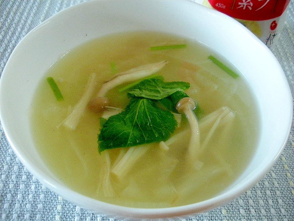 ☆きのこたっぷり!ヘルシー中華風スープ☆