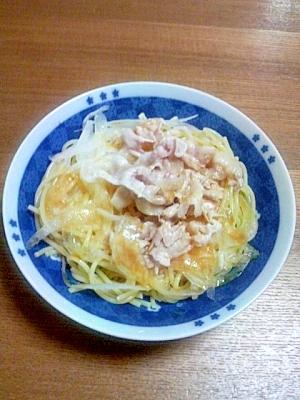 豚しゃぶパスタ(^^)