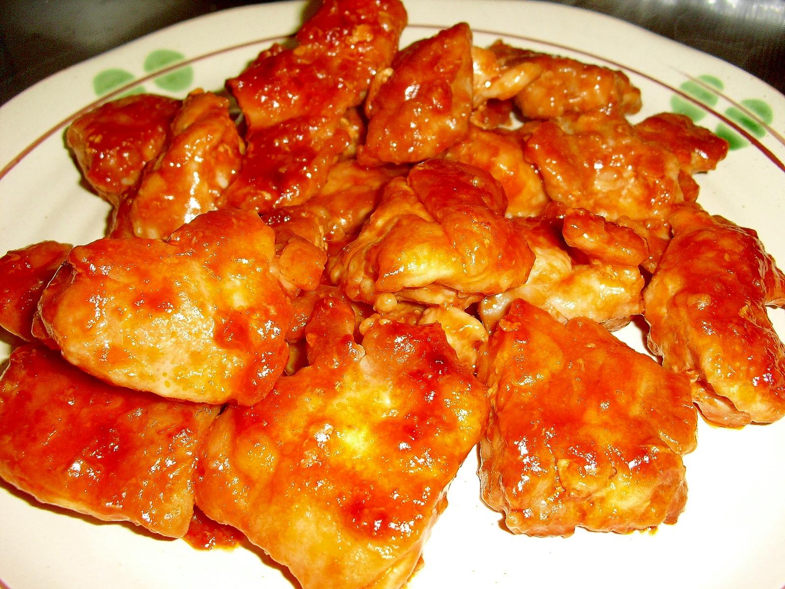 お弁当にも♪我が家の\u201c鶏肉のバーベキューソース\u201d レシピ・作り方 by miyu71174|楽天レシピ
