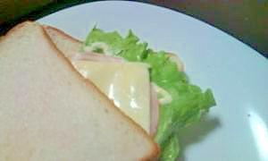 朝食に♪お手軽サンドイッチ☆