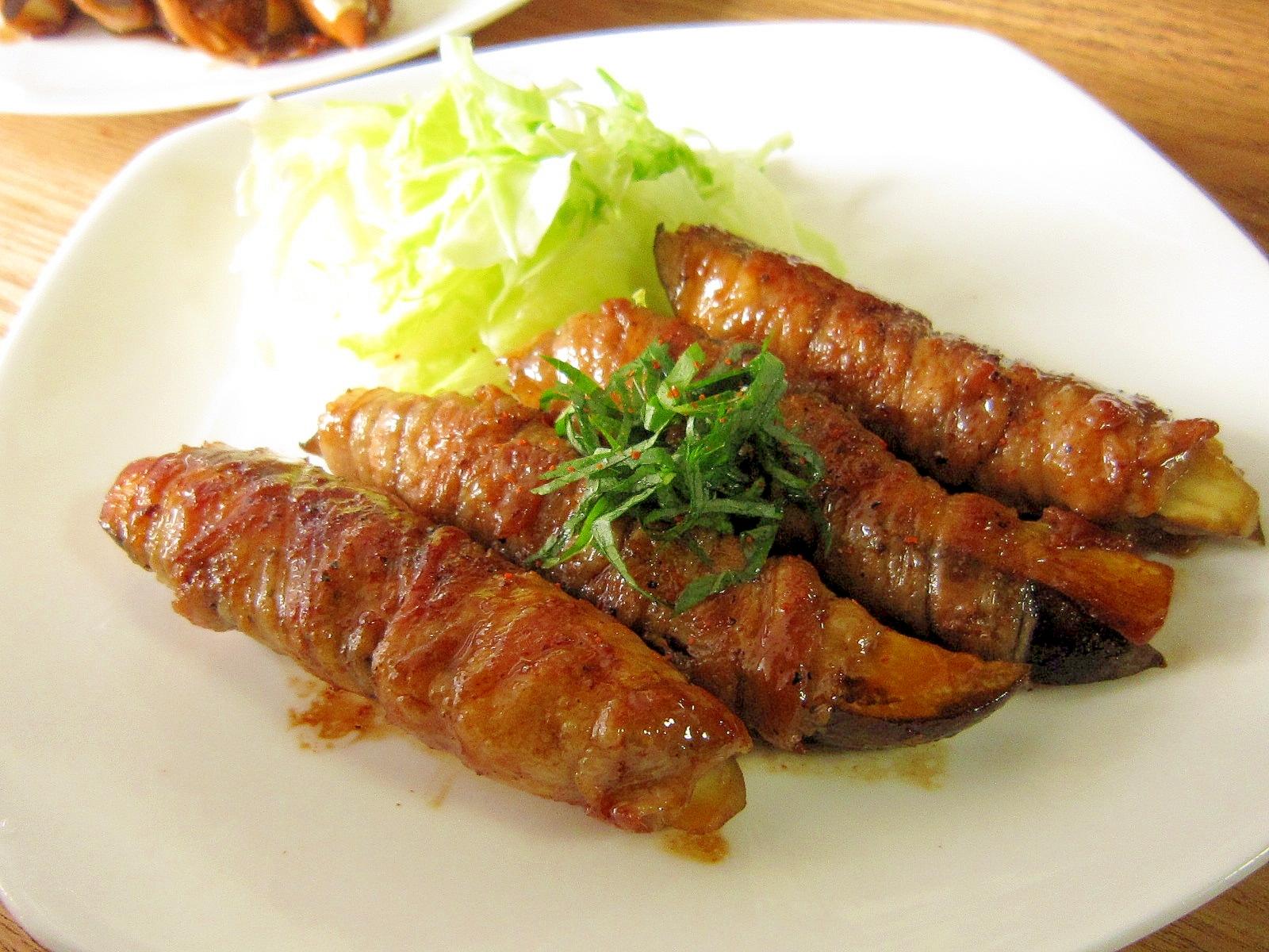 ご飯が進む☆茄子の豚バラ巻き レシピ・作り方 by cappuccio1124 楽天レシピ