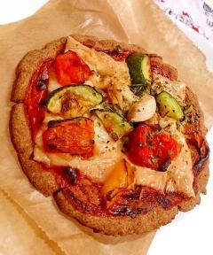 【糖質制限】発酵要らずで外側カリカリ♪基本のピザ