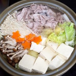 豚肉と水菜のトロロポン酢鍋【E・レシピ】料理の …