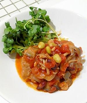 お豆たっぷり!トマト煮込み