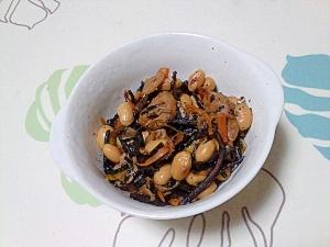 常備菜!ひじきと大豆の煮物++