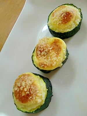 お弁当にぴったり☆ズッキーニのマヨチーズ焼き レシピ・作り方 by halu*|楽天レシピ