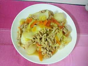 豚肉の中華丼