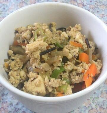 栄養たっぷり☆炒り豆腐