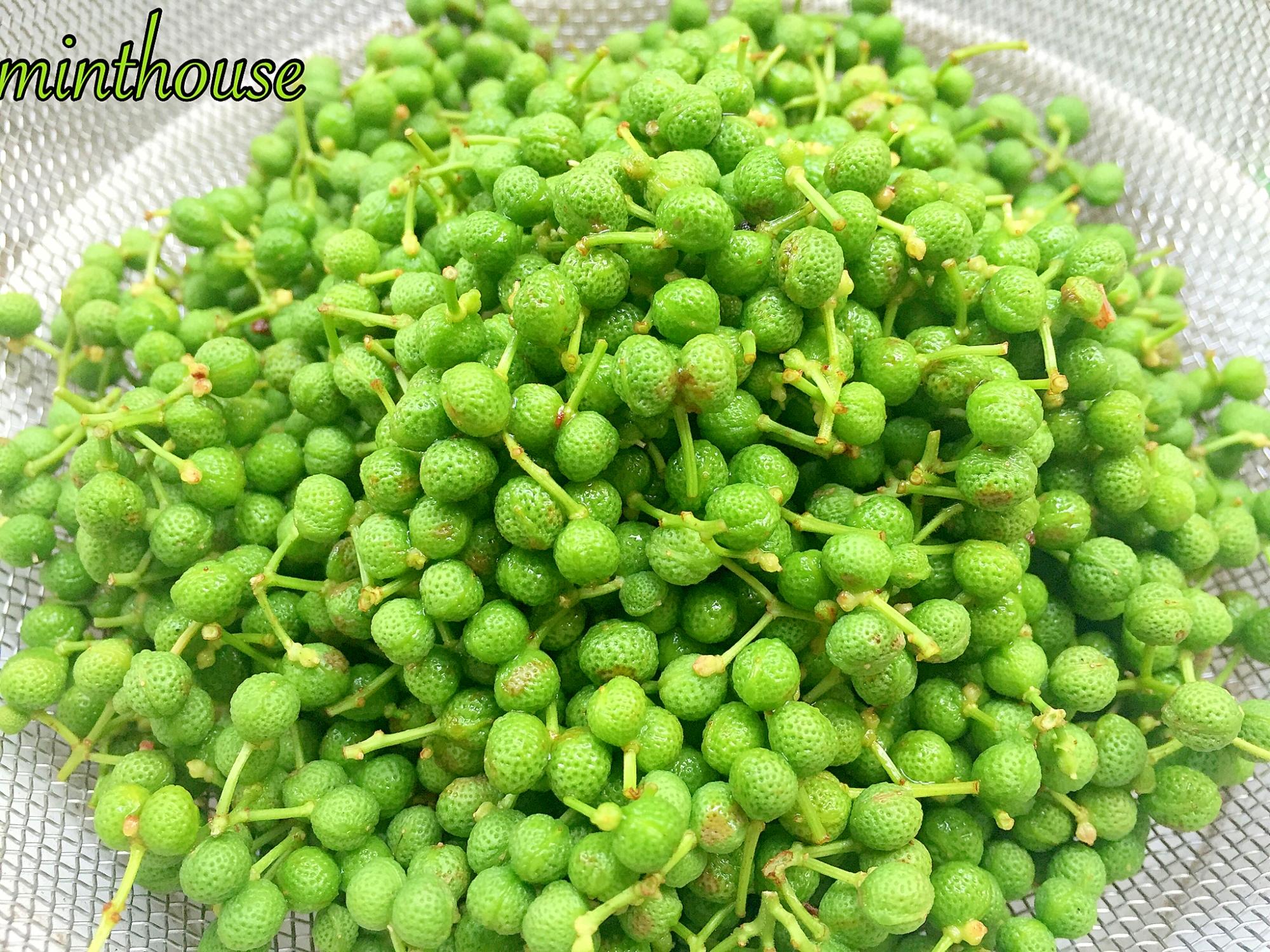 山椒の実をあく抜きして、旬の味を楽しもう♪