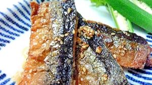 秋刀魚の揚げ焼き