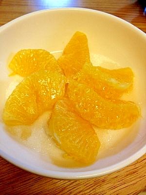 伊予柑のグラニュー糖☆トースター焼き♪