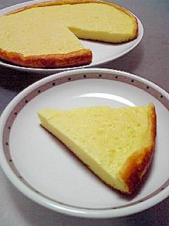 チーズケーキ風??炊飯器でヨーグルトケーキ