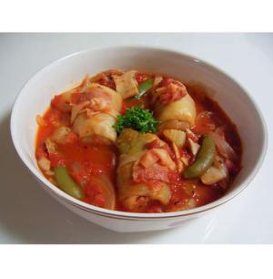 手間なし!簡単♪ロールキャベツのトマト煮込み レシピ・作り方