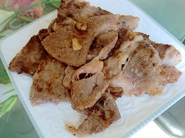 塩麹でうま味アップ♪牛焼き肉